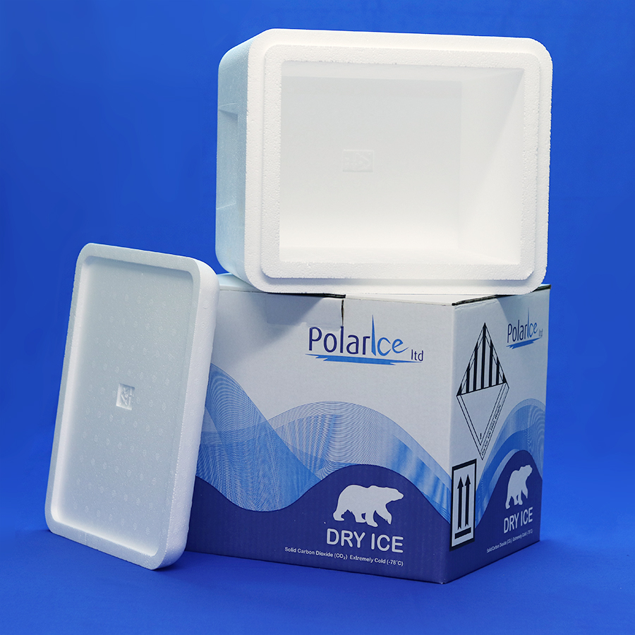 Insulated Carton for shipping 10kg dry ice quantities