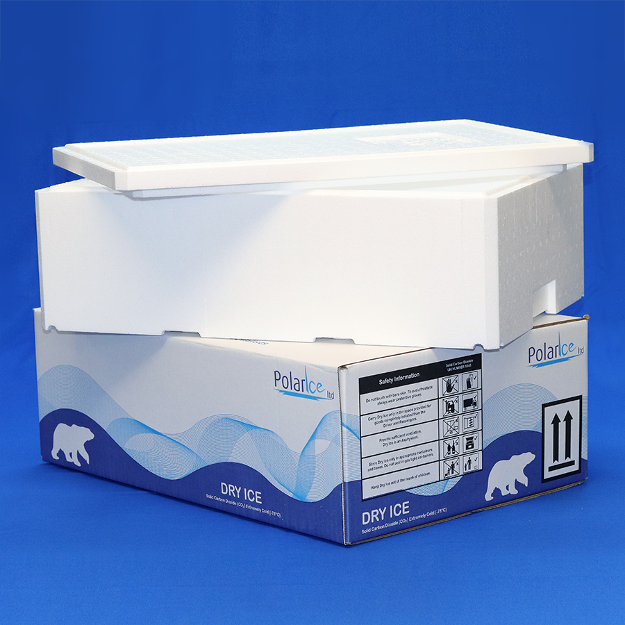 Insulated Carton for shipping 20kg dry ice quantities