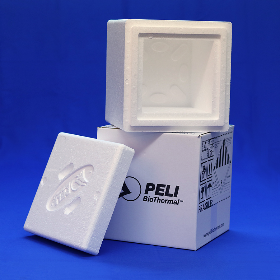 Insulated Carton for shipping 3.5kg dry ice quantities