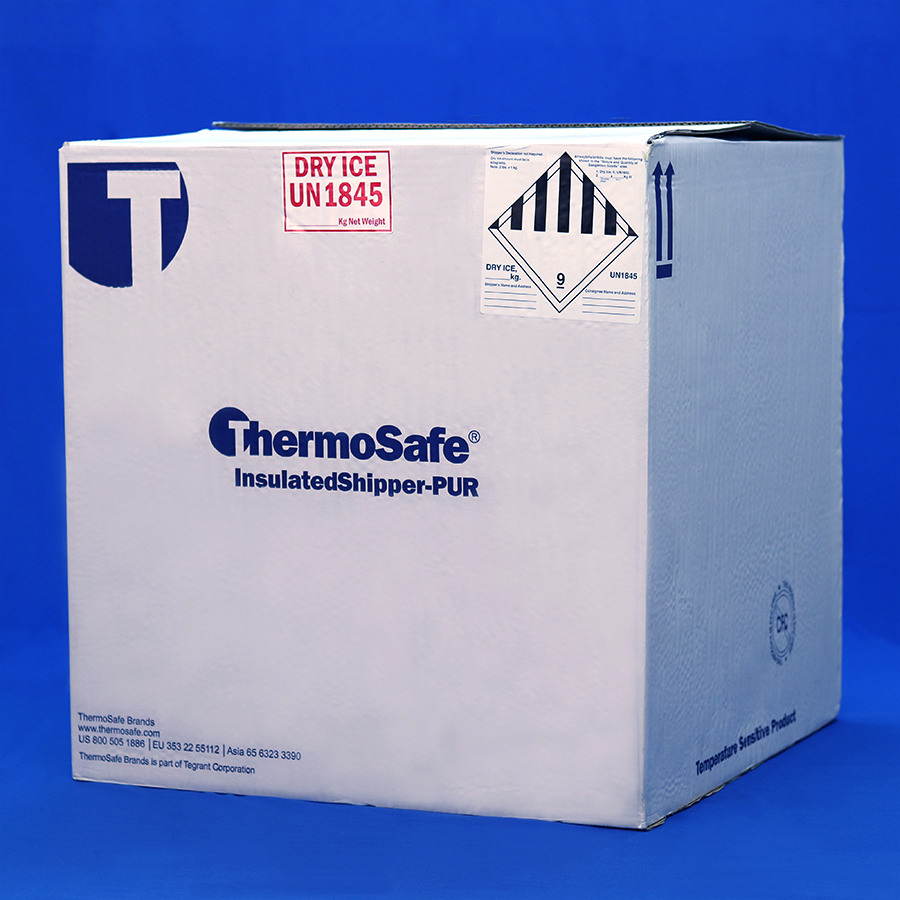 Heavily Insulated Thermosafe E327 designed for longer shipping periods