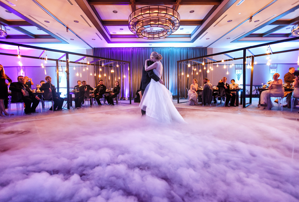Dry Ice fog effect for first dance